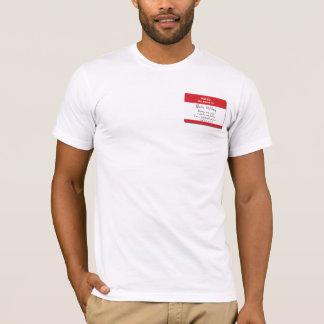 Camiseta Eu sou um esquizofrénico… e assim que sou mim!