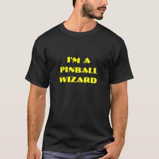 Camiseta Eu sou um feiticeiro do Pinball