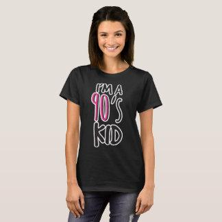 Camiseta Eu sou um miúdo dos anos 90