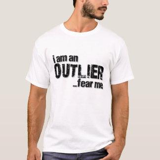 Camiseta Eu sou um OUTLIER… temo-me