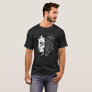 Camiseta Eu sou um proprietário do pitbull e eu sou usado