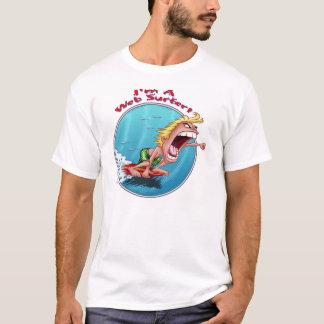Camiseta Eu sou um surfista de Web