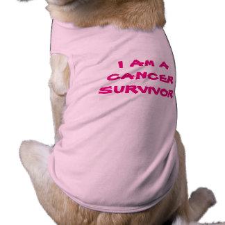 Camiseta Eu sou um T do cachorrinho do SOBREVIVENTE DE