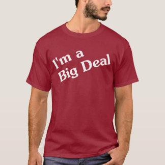 Camiseta Eu sou um t-shirt da grande coisa