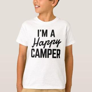 Camiseta Eu sou um t-shirt do campista feliz