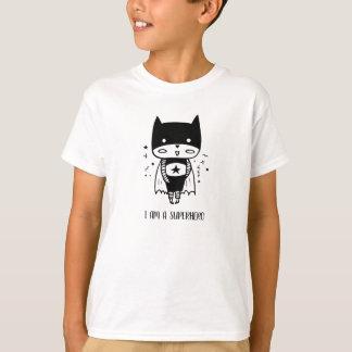Camiseta Eu sou um t-shirt do super-herói