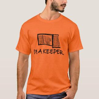 Camiseta Eu sou um t-shirt dos homens do depositário