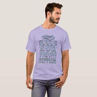 Camiseta Eu sou um Towboater até mim morro