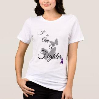 Camiseta Eu sou um TShirt da fibromialgia do lutador