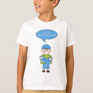 Camiseta eu sou um tshirt do big brother (irmãos gémeos)