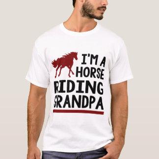 Camiseta Eu sou UM VOVÔ da EQUITAÇÃO