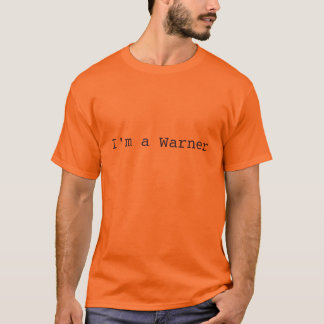Camiseta Eu sou um Warner - o T clássico dos homens