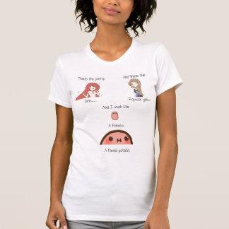 Camiseta Eu sou uma batata do kawaii
