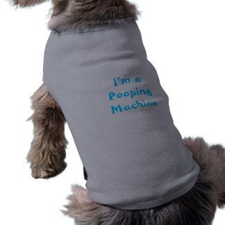 Camiseta Eu sou uma camisa do animal de estimação da máquin