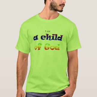 Camiseta Eu sou uma criança do deus