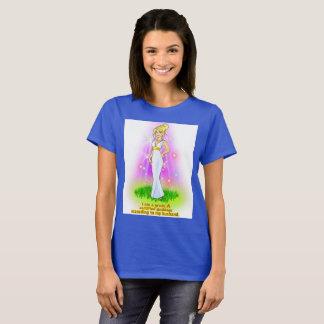 Camiseta Eu sou uma deusa certificada (o louro)