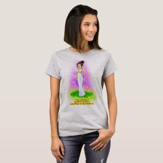 Camiseta Eu sou uma deusa certificada (o preto)