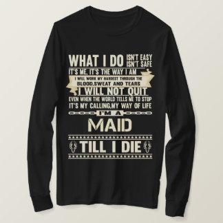 Camiseta Eu sou uma EMPREGADA DOMÉSTICA. T-shirt do