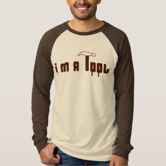 Camiseta Eu sou uma ferramenta (o basebol)