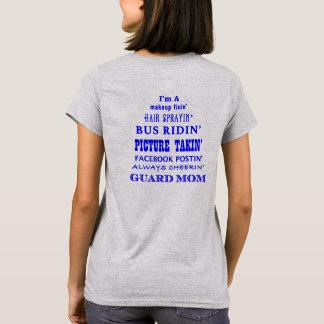 Camiseta Eu sou uma mamã da guarda