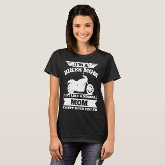 Camiseta Eu sou UMA MAMÃ do MOTOCICLISTA APENAS COMO UMA