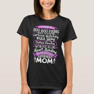 Camiseta Eu sou uma mamã do super-herói