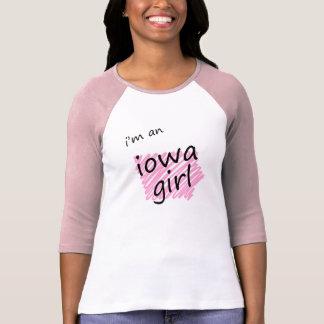 Camiseta Eu sou uma menina de Iowa