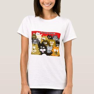 Camiseta Eu sou uma pessoa do gato