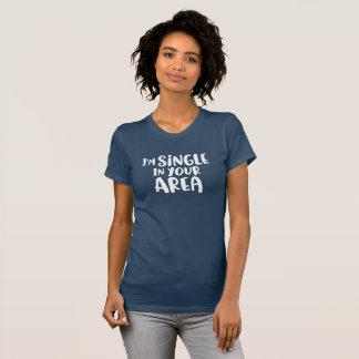 Camiseta Eu sou único em sua área