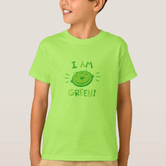 Camiseta Eu sou verde!