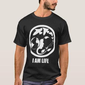 Camiseta EU SOU VIDA. whitetext