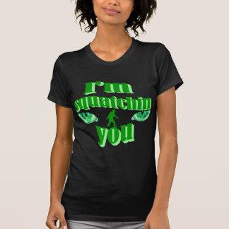 Camiseta Eu squatching o