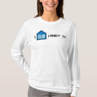 Camiseta Eu Sub a tevê Hoody do Fanboy