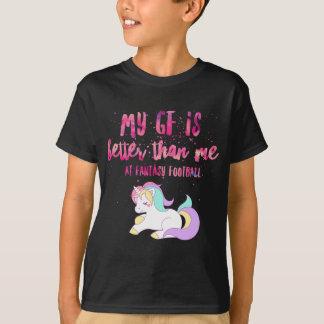 Camiseta Eu sugo em T-S unisex da Curto-Luva do futebol da