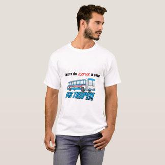 Camiseta Eu Sure amo um t-shirt da viagem do ônibus
