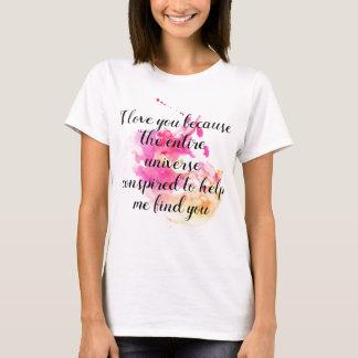 Camiseta Eu te amo adopção de Encouragment, assistência