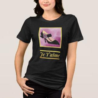 Camiseta Eu te amo CALÇADOS!