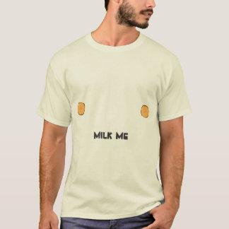 """Camiseta """"Eu tenho bocais. Pode você ordenhar-me, Greg? """""""