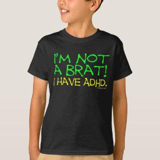 Camiseta Eu tenho dizer de ADHD