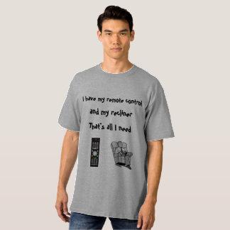 Camiseta Eu tenho meu controlo a distância
