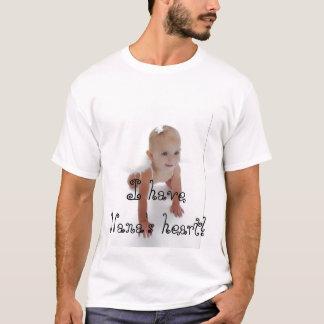 Camiseta Eu tenho o coração de Nana!