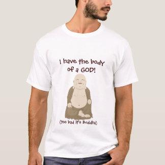 Camiseta Eu tenho o corpo de um DEUS!