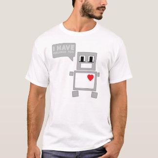 Camiseta Eu tenho sentimentos demasiado