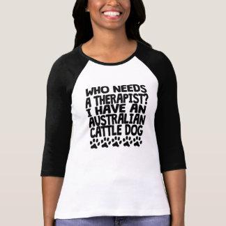 Camiseta Eu tenho um cão australiano do gado