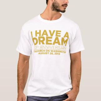 Camiseta Eu tenho um sonho