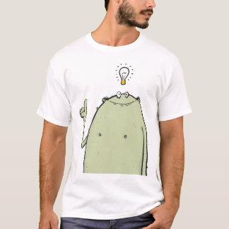 Camiseta Eu tenho um t-shirt das caras do monstro da ideia