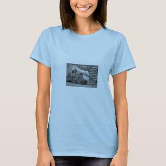 """Camiseta """"Eu tenho"""" uma boneca ideal T do pitbull"""