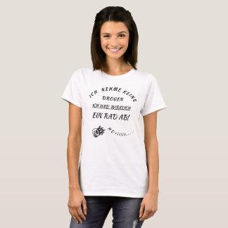 """Camiseta """"eu tens rad de """""""