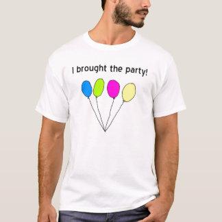 Camiseta Eu trouxe o partido!