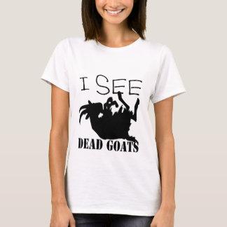 Camiseta Eu ver cabras inoperantes